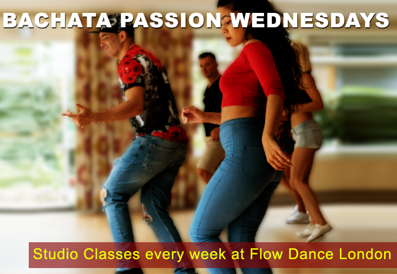Bachata Passion Wednesdays Studio Lessons at Flow Dance